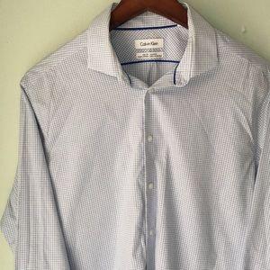 CALVIN KLEIN slim fit non-iron shirt